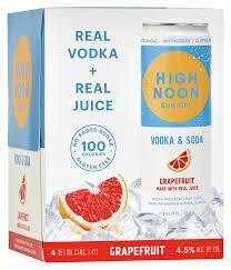 High Noon Grapefruit 4pk