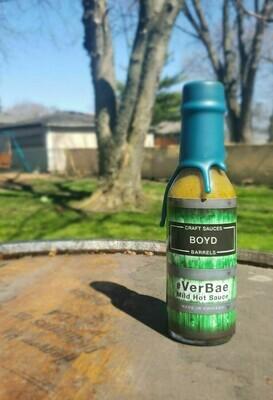 Boyd #VerBae Mild Hot Sauce 5oz