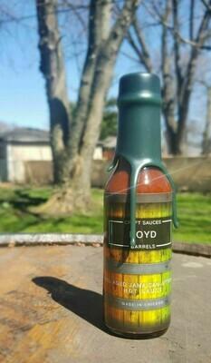 Boyd Barrel Aged Jamaican Jitter Juice Hot Sauce 5oz