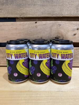 City Water Mixed Berry 6pk