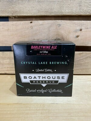 Crystal Lake Boathouse Barleywine 4pk
