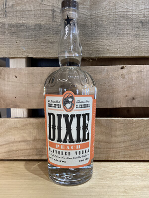 Dixie Peach Vodka 750mL
