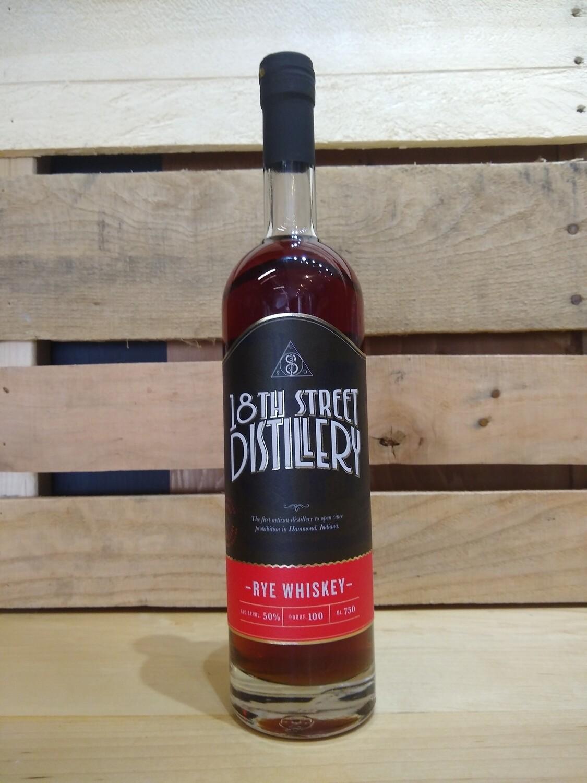 18th Street Rye Whiskey 750mL