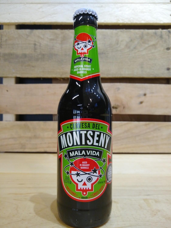 Cervesera del Montseny Mala Vida Brandy 12oz bottles