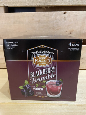 New Holland Blackberry Bramble Vodka  6pk