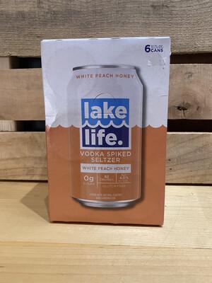 New Holland Lake Life White Peach 6pk