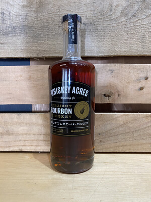 Whiskey Acres Bottled in Bond Straight Bourbon 750ml