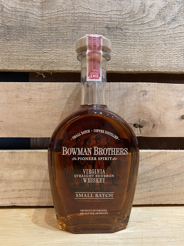 Bowman Brothers Virginia Straight Whiskey 750ml