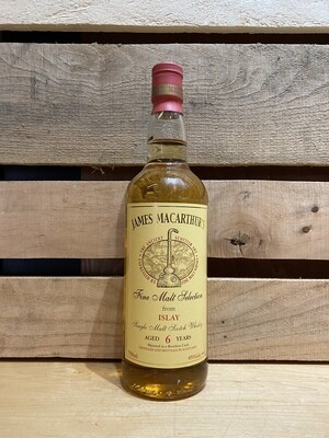 James Macarthur's 6 Year Islay Scotch Whisky 750ml