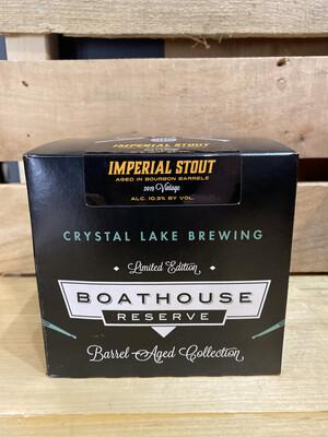 Crystal Lake Boathouse Bourbon Stout 4pk