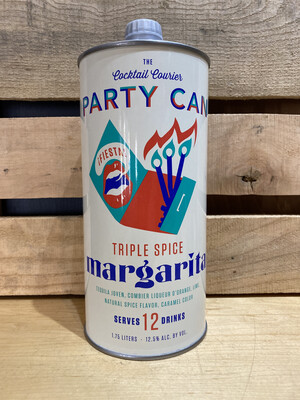 Cocktail Courier Triple Spice Margarita Party Can 1.75L