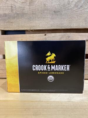Crook & Marker Spiked Lemonade 8pk