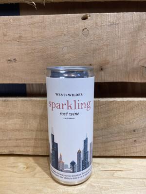 West + Wilder Sparkling Rose 250ml Can