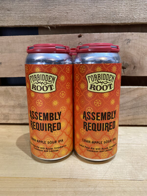 Forbidden Root Assembly Required (CranApple) 4pk