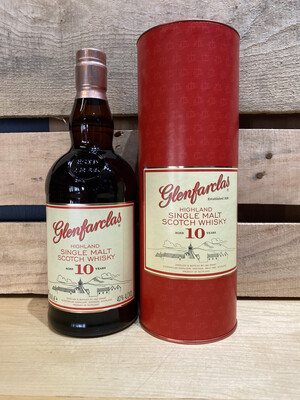 Glenfarclas Single Highland Malt  Scotch 10 year 750ml