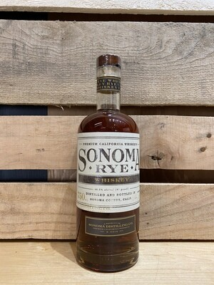 Sonoma Distilling Rye Whiskey 750ml