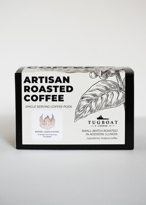 Tugboat Barrel Aged Neckbeard Nectar Coffee 12pk K Cup