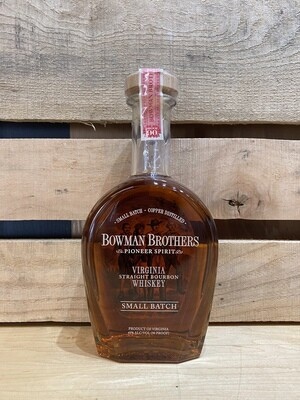 Bowman Brothers Virginia Straight Whiskey 750ml