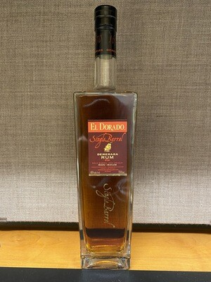 El Dorado Single Barrel Demerara Rum PM 750ml