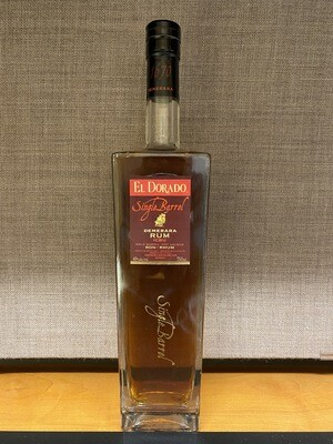 El Dorado Single Barrel Demerara Rum ICBU 750ml