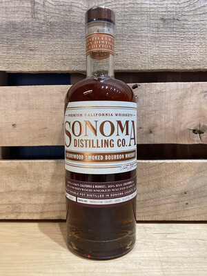 Sonoma Distilling Cherrywood Smoked Bourbon 750ml