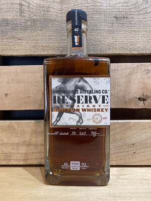 Union Horse Bourbon Reserve Straight 750ml