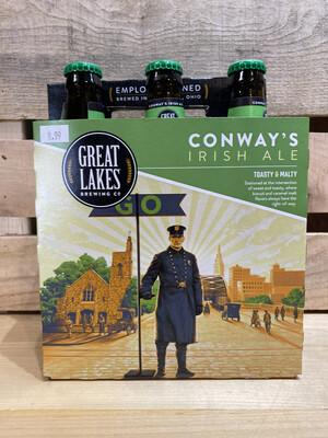 Great Lakes Conways Irish Ale 6pk