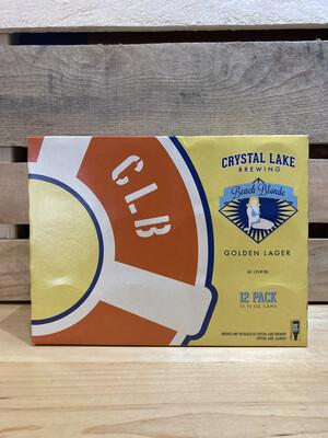 Crystal Lake Beach Blonde 12pk
