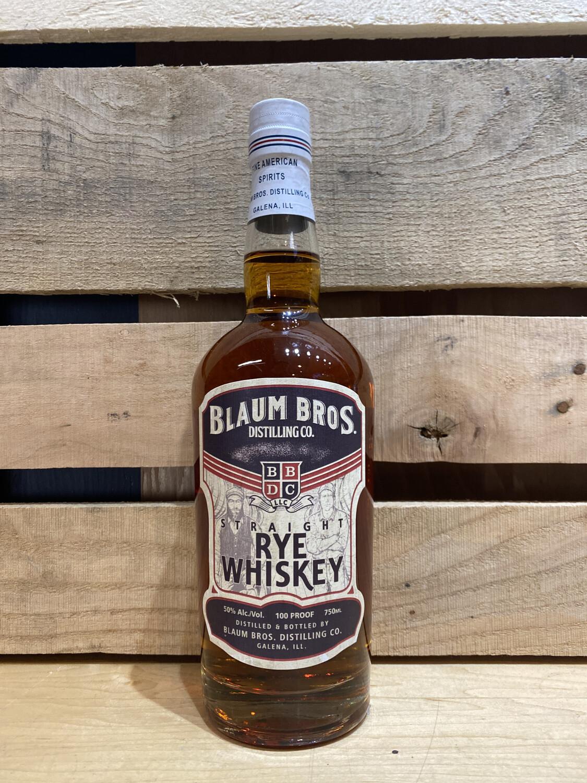 Blaum Straight Rye 750mL bottle
