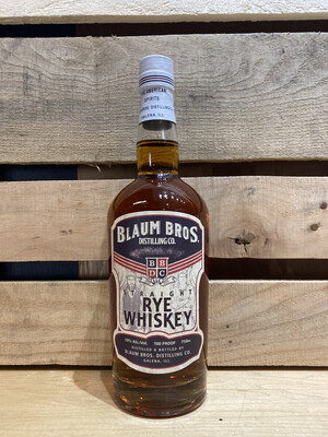 Blaum Straight Rye 750mL bottle