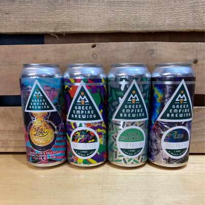 Green Empire Mixed 4pk cans
