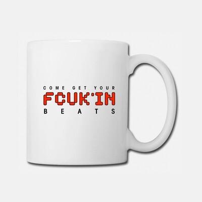 FCUK'IN White Red Coffee/Tea Mug