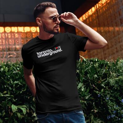 Toronto Underground Black Red Men's T-Shirt