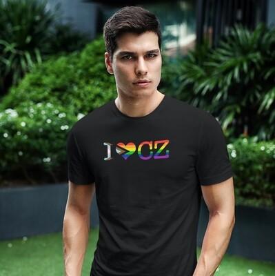 I Love CZ Pride Men's T-Shirt