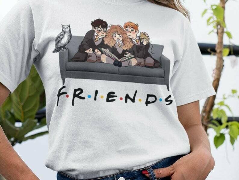 Best Friends Harry Potter Harry Magical Wizard T Shirt, The Magical World, Harry Potter Fan, J K Rowling, Hogwarts Castle