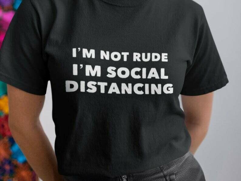 Im Not Rude Im Social Distancing Shirt, Do The Work, Motivational Shirt, Work Out Shirts, Work Hard Shirt, Do You Even Lift, Crossfit Shirt