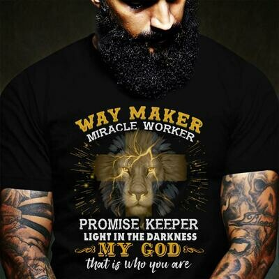 Way Maker Song Shirt, Way maker Miracle worker promise keeper light in the darkness my god that is who you are shirt, Christian Shirt, Long Sleeve, Sweatshirt, Youth T shirt, Hoodie, T - shirt