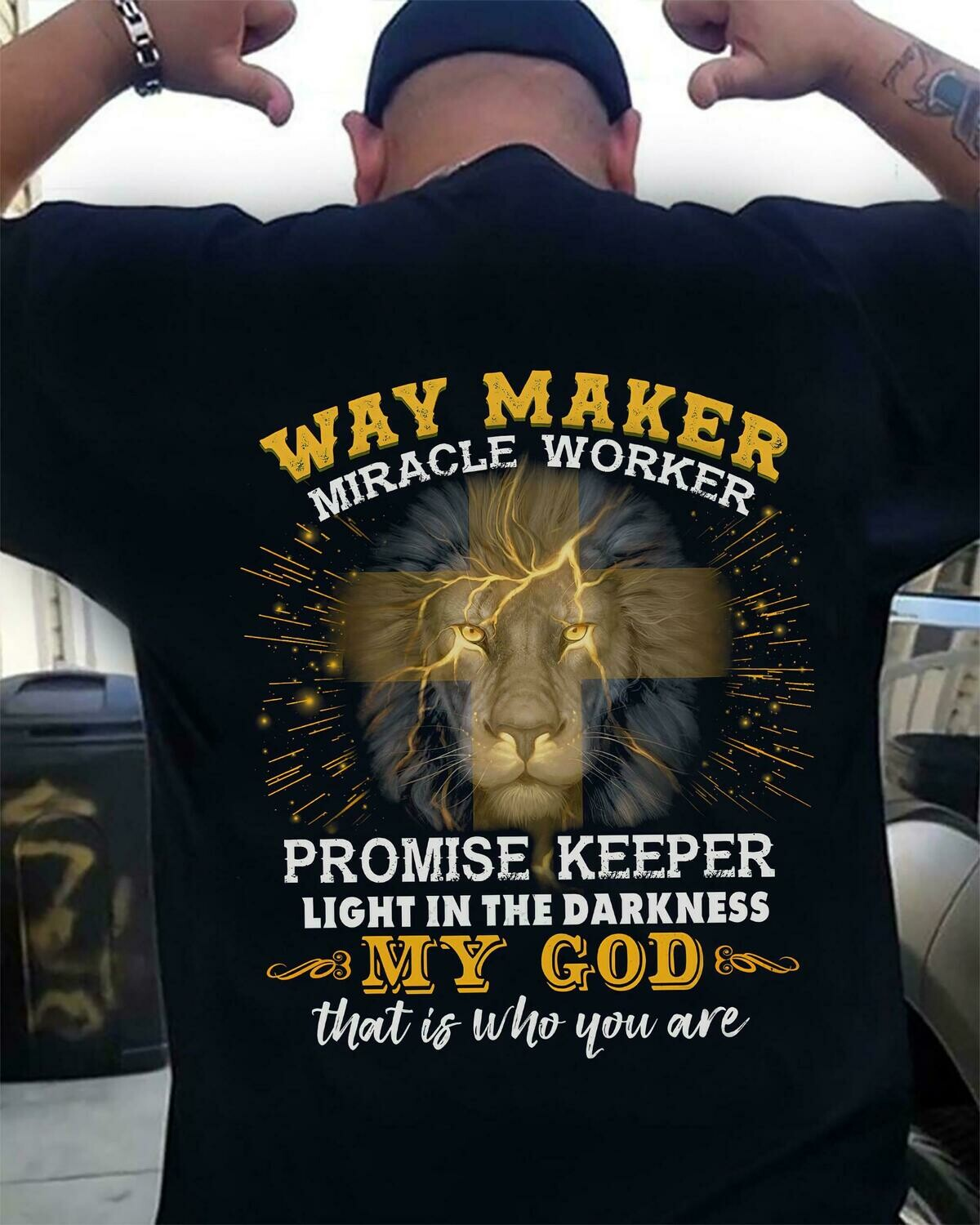 Way maker Miracle worker promise keeper light in the darkness my god that is who you are shirt,