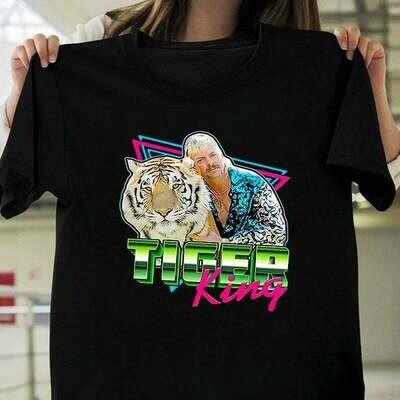 Tiger King Joe Exotic t-shirt Joe Exotic Shirt Tiger King Show Shirt Funny Tiger King | Netflix