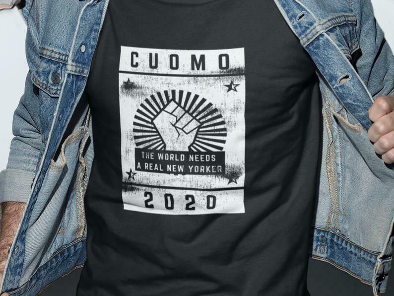 Cuomo 2020 Shirt, Andrew Cuomo, Political Campaign, Funny Political, Campaign Shirt, Voting Shirt, Election Shirt, Political Statement