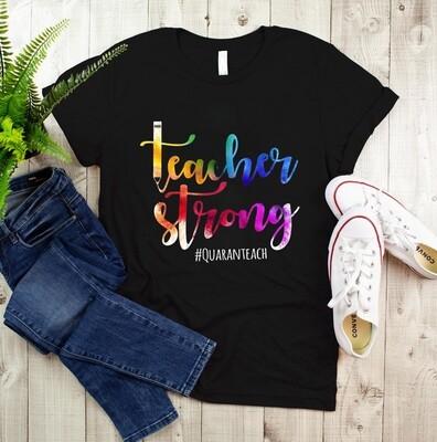 Teacher Strongs 2021 The One Where We Quaranteach Shirt, Teachers Shirt, Gift Shirt for Teacher, Unisex T-shirt, Sweatshirt, Hoodie all size