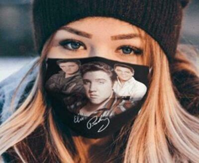 Face Mask Adult  Cotton  Cotton Spandex  Washable & Reusable Facemask