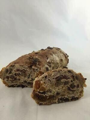 Heavy Rye Fruit Bread