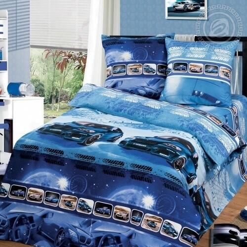 Комплект постельного белья из бязи БМВ