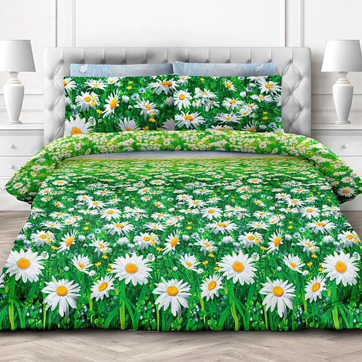 Комплект постельного белья из бязи Ромашки