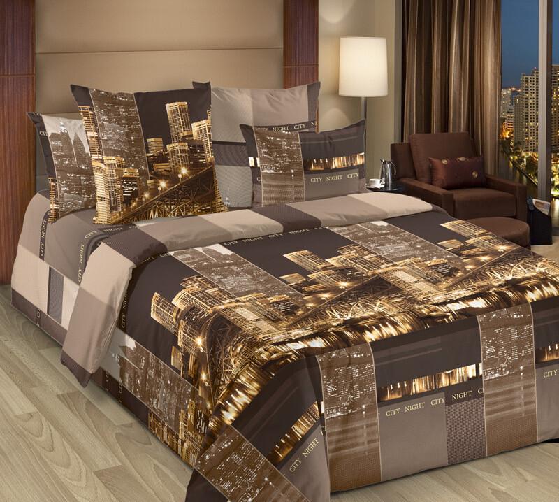 Комплект постельного белья из бязи Сити