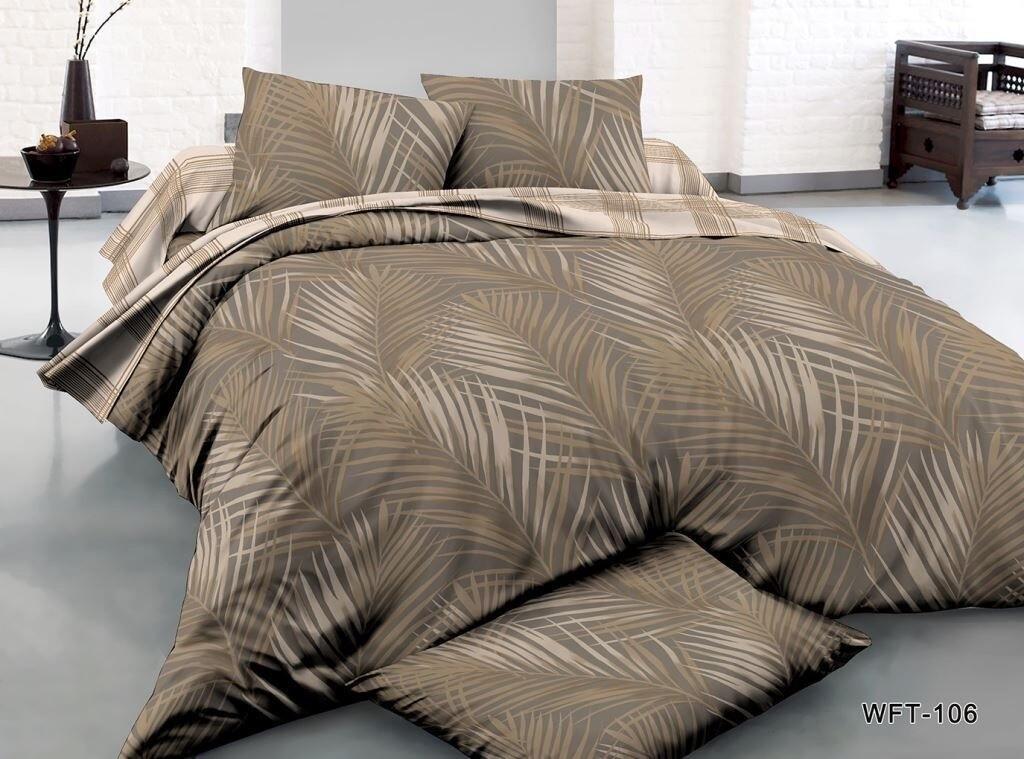 Комплект постельного белья из сатина Папоротник