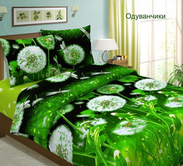 Комплект постельного белья из бязи Одуванчики