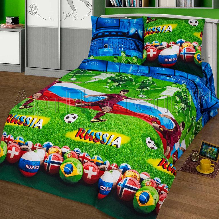 Комплект постельного белья из бязи Матч