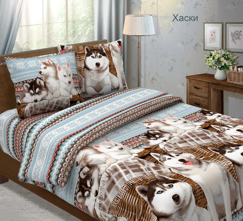 Комплект постельного белья из бязи Хаски